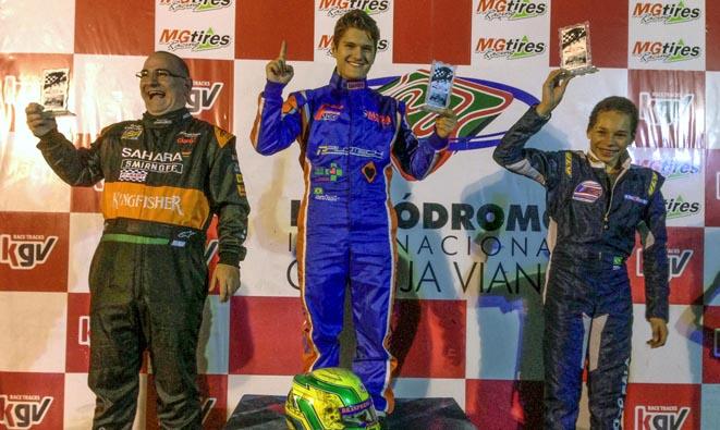 Fórmula Master de Kart: Edu Abrantes e Alberto Otazú decidem título de campeão