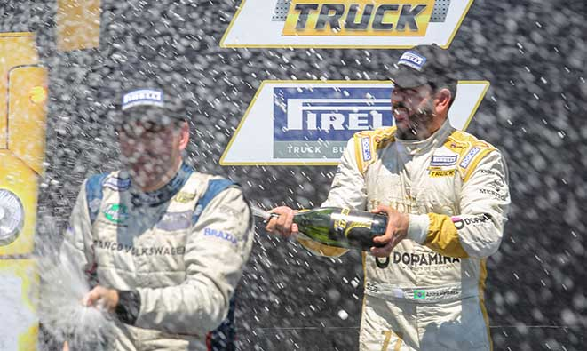 Marques e Cirino buscam troféu para fechar a temporada de estréia na Copa Truck