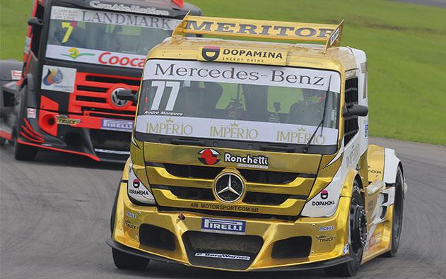 Restritores entram em ação e garantem equilíbrio na Copa Truck