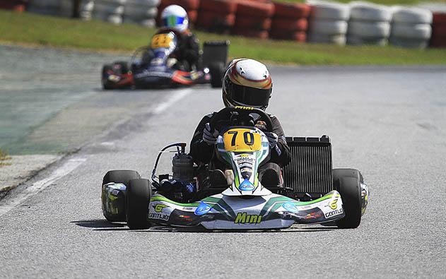Ayrton Gil voltou a vencer e garantiu vaga para o Brasileiro de Kart