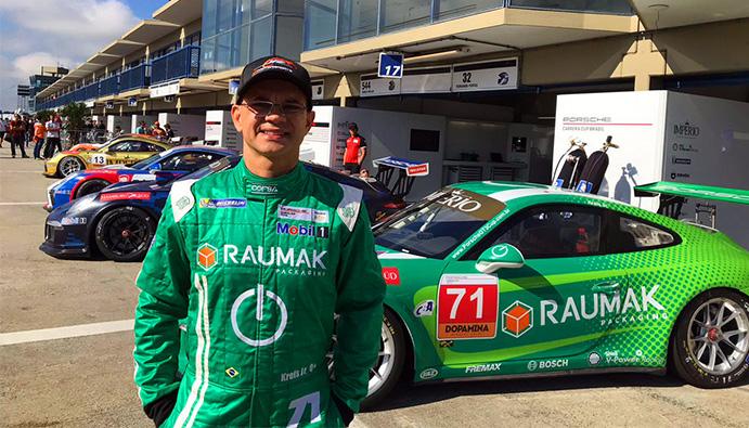 Kreis Jr. participa da 1ª etapa da Porsche Império GT3 Cup Endurance Series em Interlagos