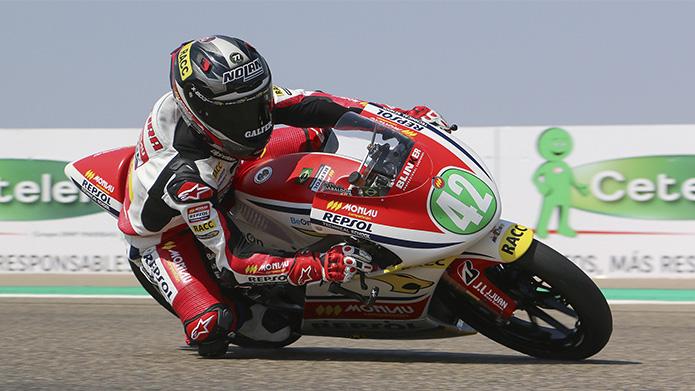 Moto4: Diogo Moreira faz excelente prova de recuperação e conquista 2º lugar na etapa de Aragon